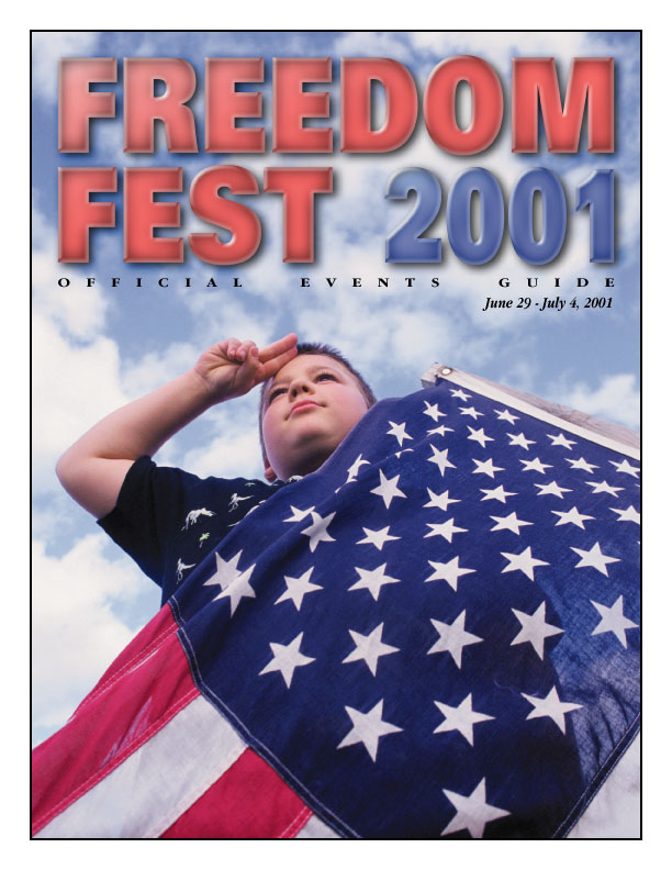 Freedom Fest 2001 Cover