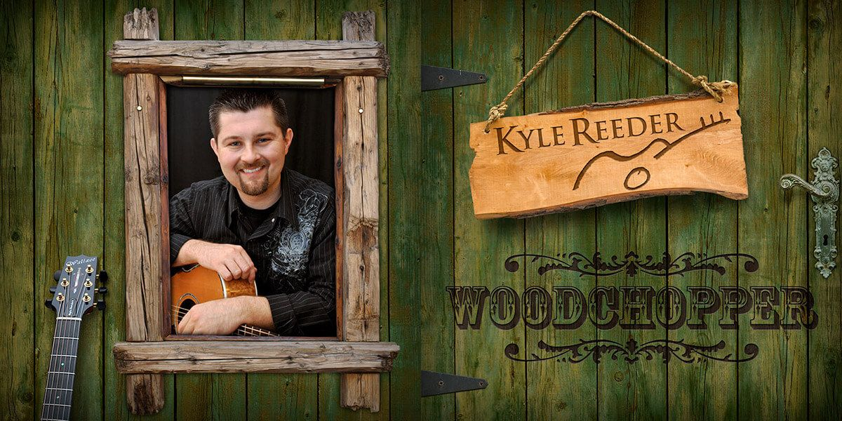 Kyle Reeder Woodchopper CD booklet by EyeSite Creations