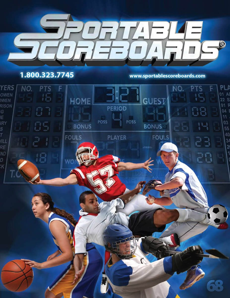 Sportable Scoreboards catalog by EyeSite Creations